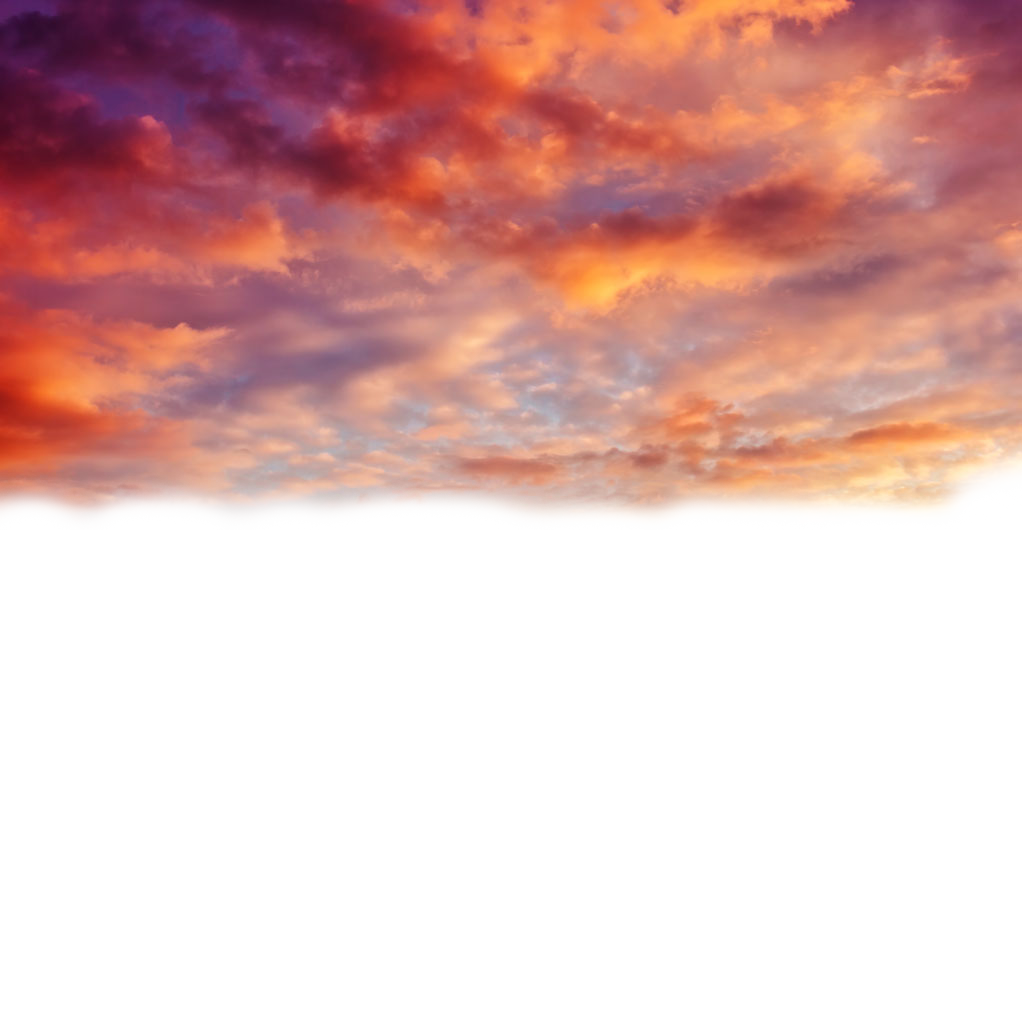Download Beautiful Sky Sunset Cloud Free Transparent Image.