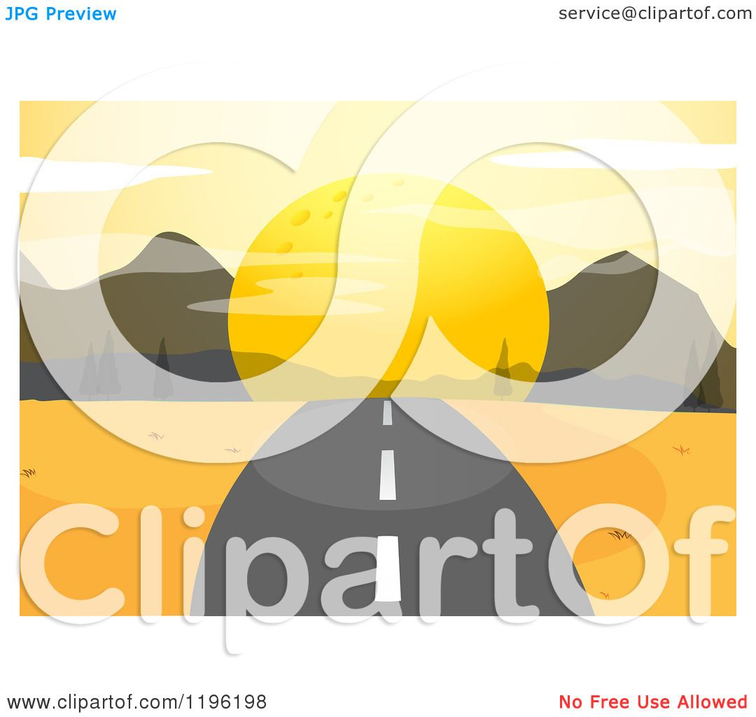 sunset road clipart without watermark 20 free Cliparts | Download