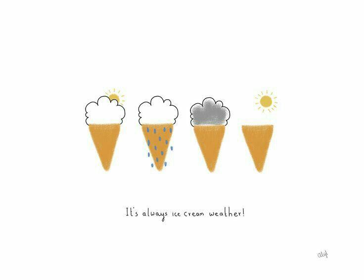 Pin by sunshine on ice cream.