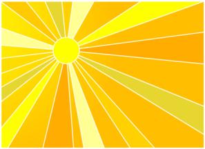Sunshine Background Clip Art at Clker.com.