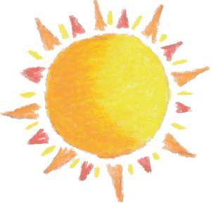 Sunshine sun border clipart free images 2.