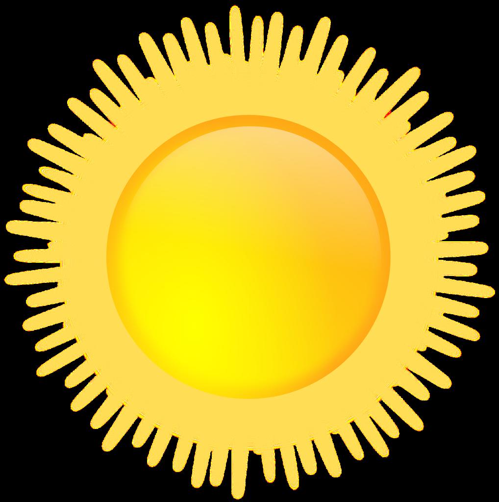 Download Sunshine PNG HD For Designing Work.