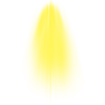 Yellow Sunlight PNG Images.