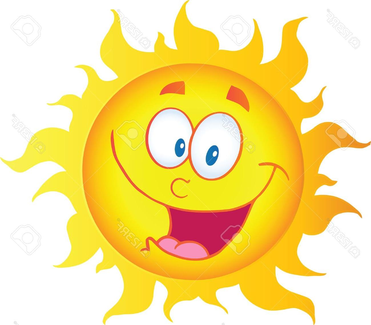 Best Free Sunshine Smiley Face Clip Art Vector Cdr » Free.