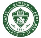 State University of New York at Oswego.