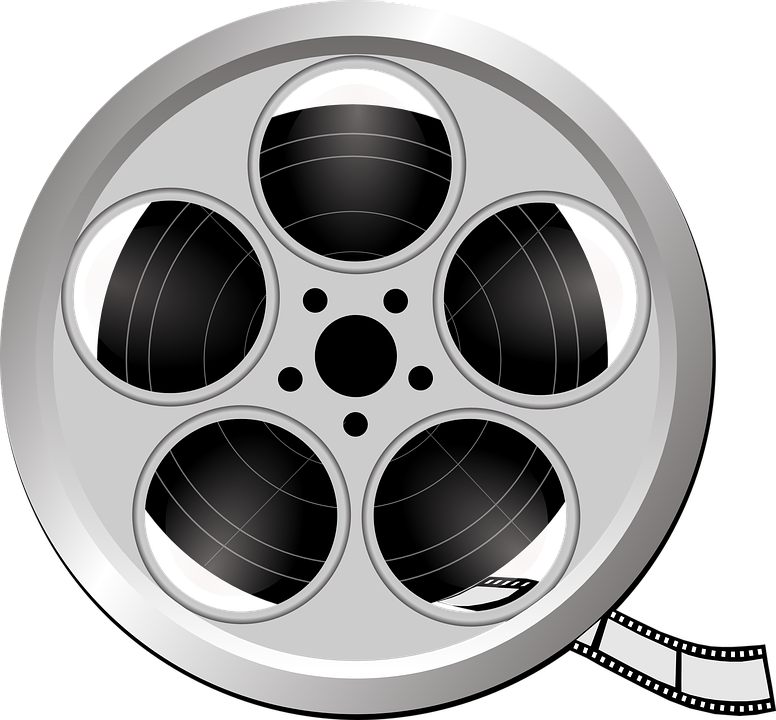 Free vector graphic: Film, Film Reel, Video, Cinema.