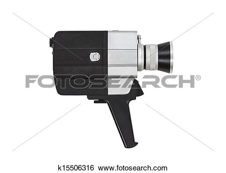 Stock Images of Vintage Super 8 Film Camera k15506316.