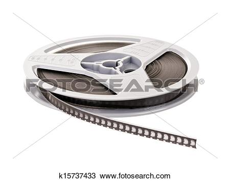 Stock Photo of Super 8 Film Reel k15737433.