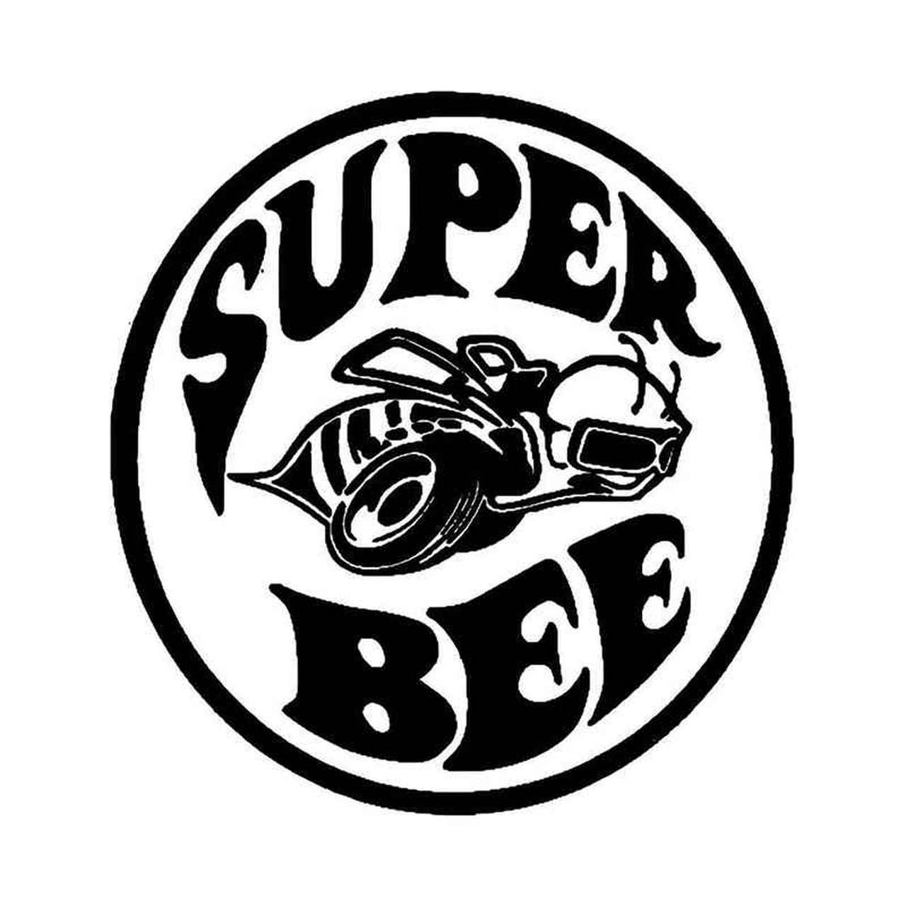 Dodge Super Bee Vinyl Decal Sticker.
