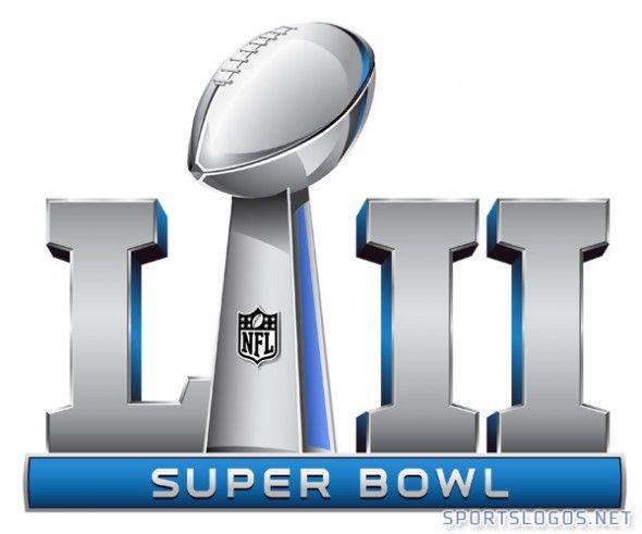 Super Bowl 2018 Logo Clipart.