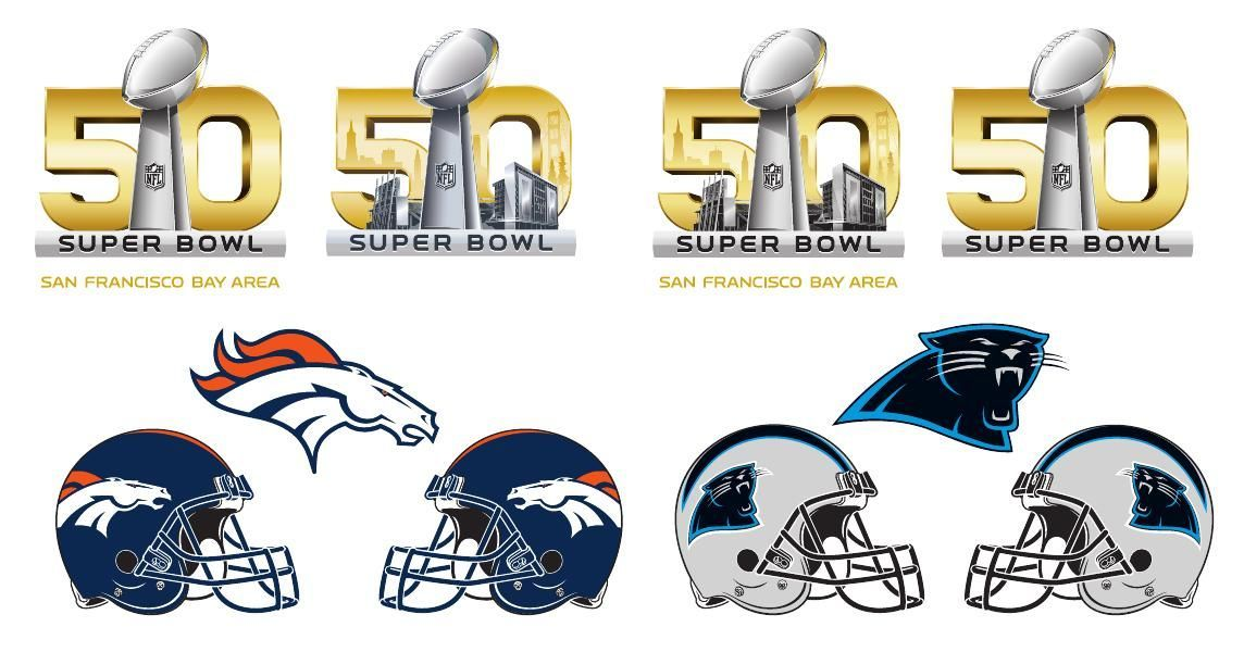 Super Bowl 50 logo.