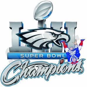 Details about Philadelphia Eagles 2018 Super Bowl 52 Champions Decal /  Sticker.