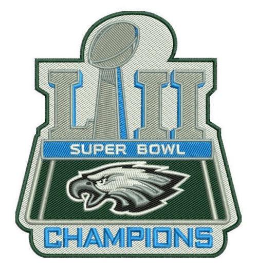 Stitched Philadelphia Eagles Super Bowl LII 52 Champions.