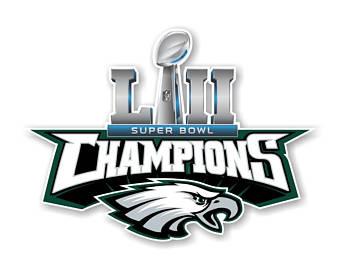 Super Bowl 52 Logo Silhouette.