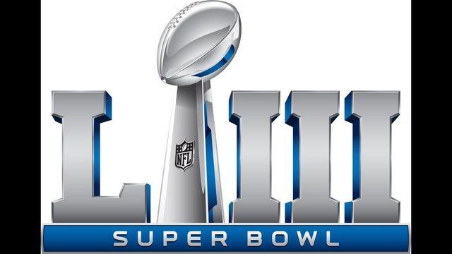 Super bowl 53 Logos.