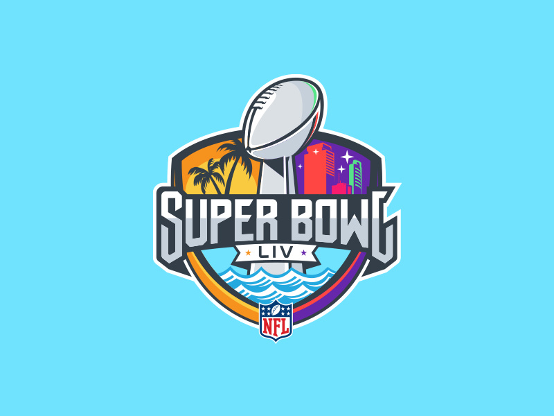Super Bowl 54 (1/3) by Michael Irwin.