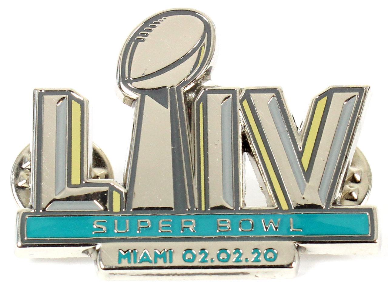 Super Bowl LIV (54) Logo Pin.