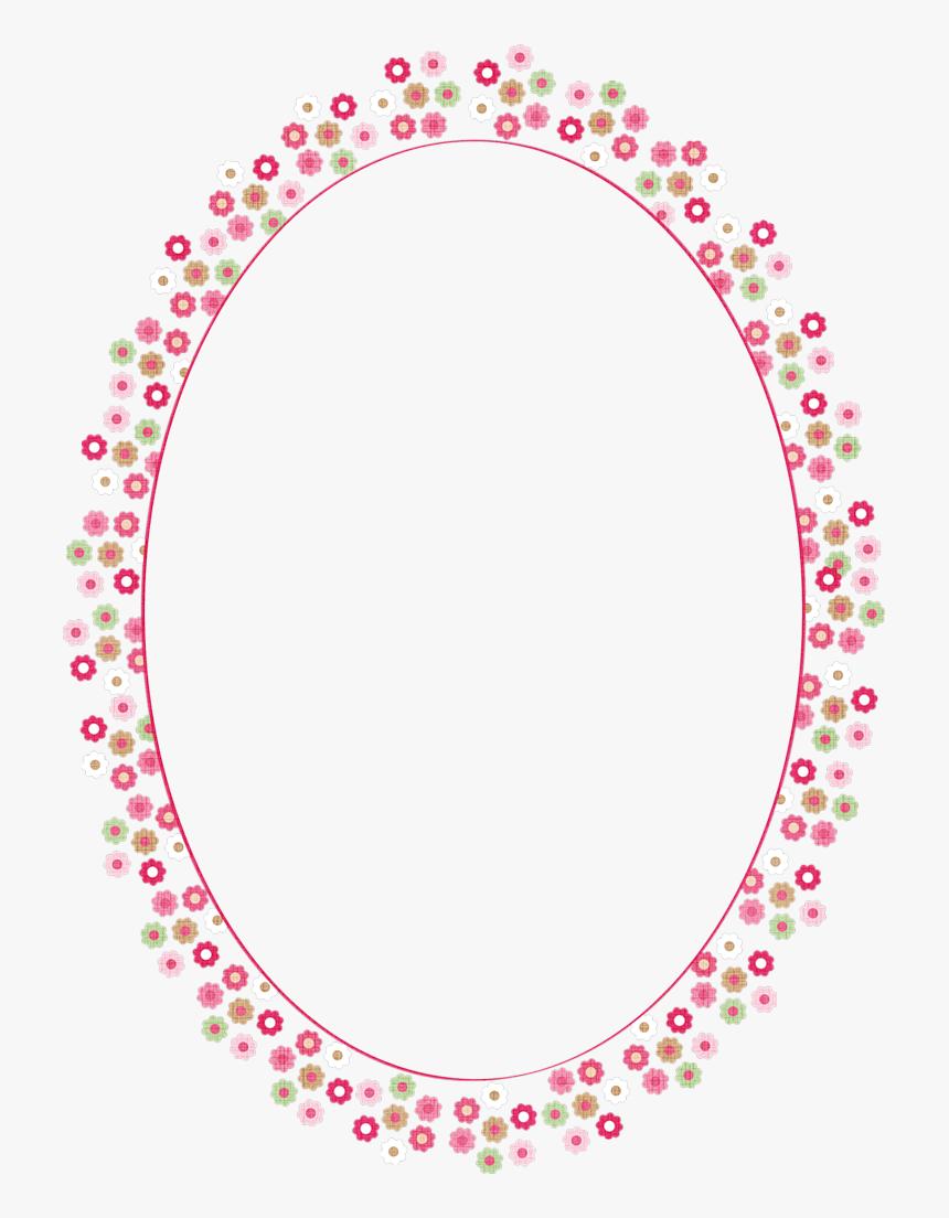 Transparent Princess Frame Clipart.
