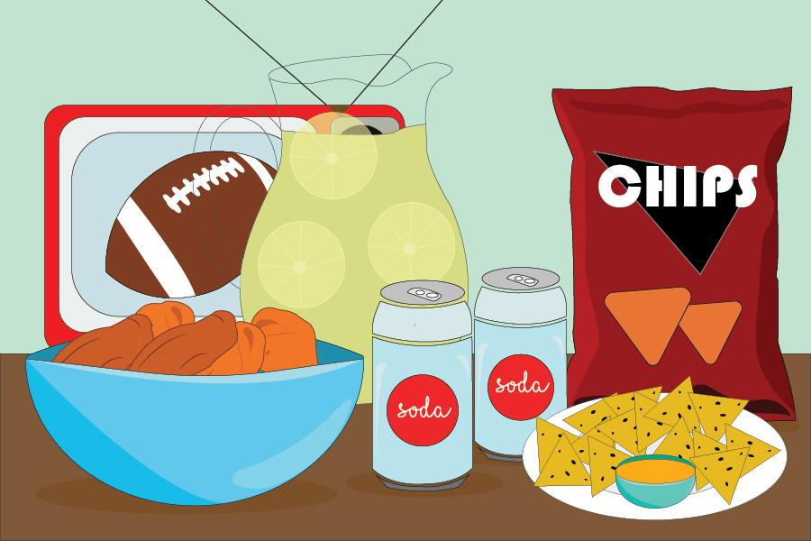 Super Bowl 2018 Snacks.