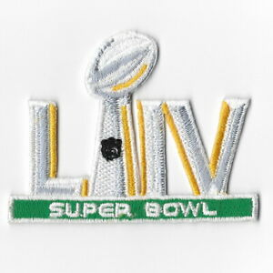 Details about Super Bowl LIV 2020 Iron on Patches Embroidered Patch  American Football FN.