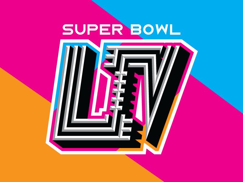 Super Bowl LIV by Houston Mark on Dribbble.