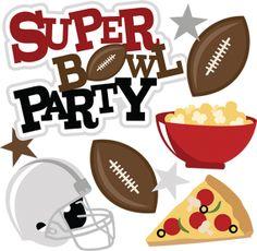 Super Bowl Football Clipart.