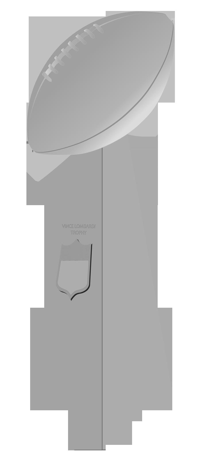 Vince Lombardi Trophy.