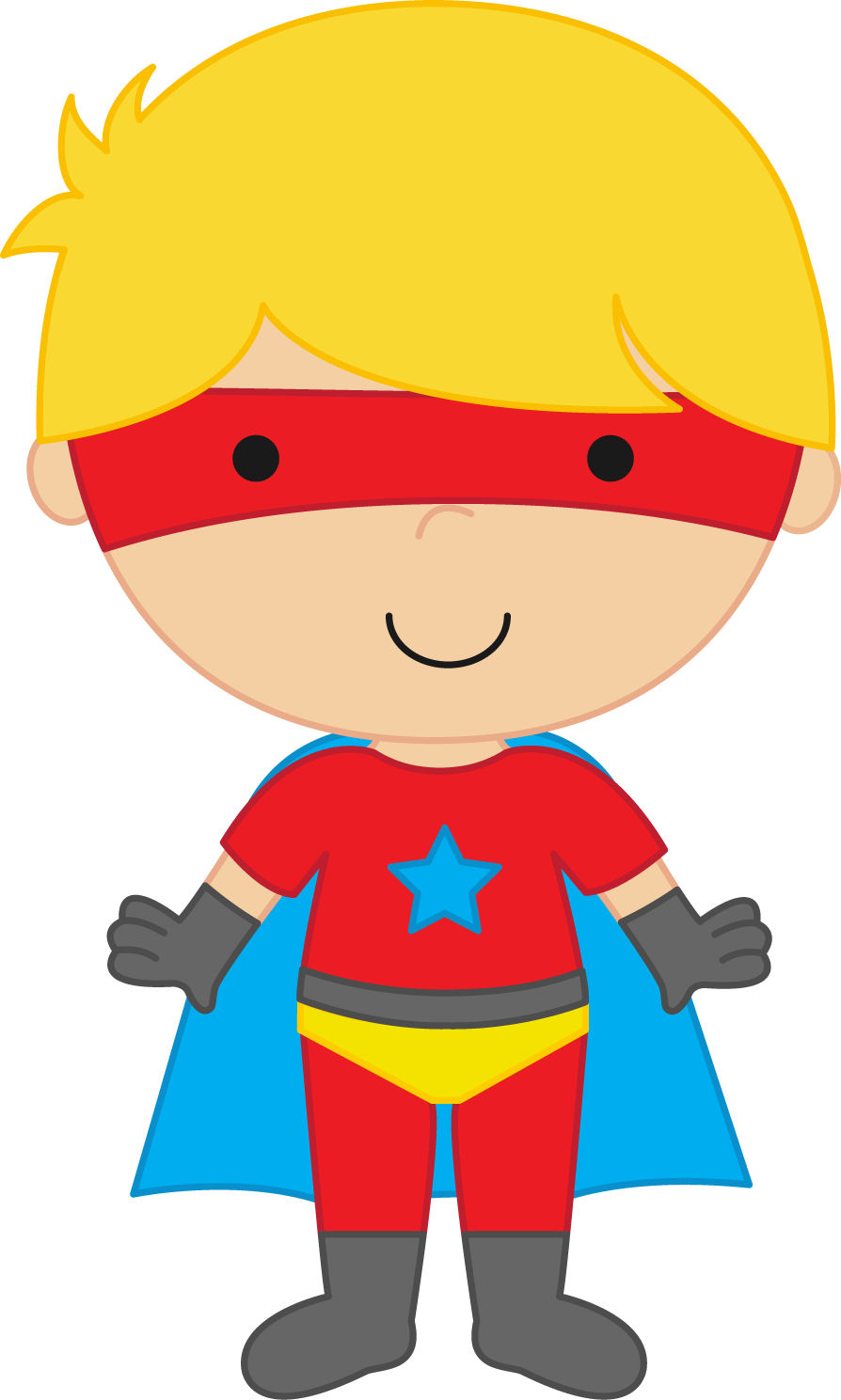 Super Boy Clipart.
