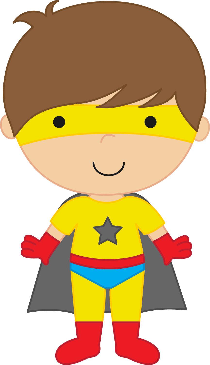 Super Boy Clipart.