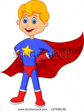 Super Boy Stock Images, Royalty.