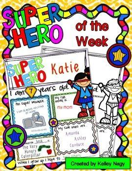 Super Hero of the Week.