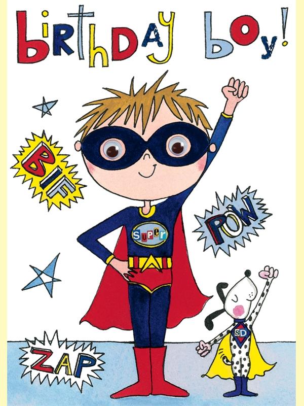 Boy birthday card Allard.