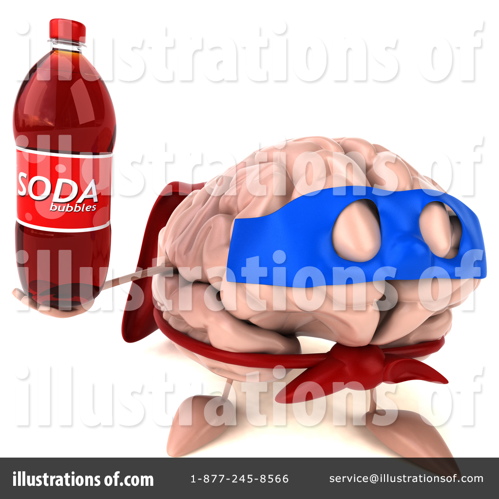Super Brain Clipart #1429946.