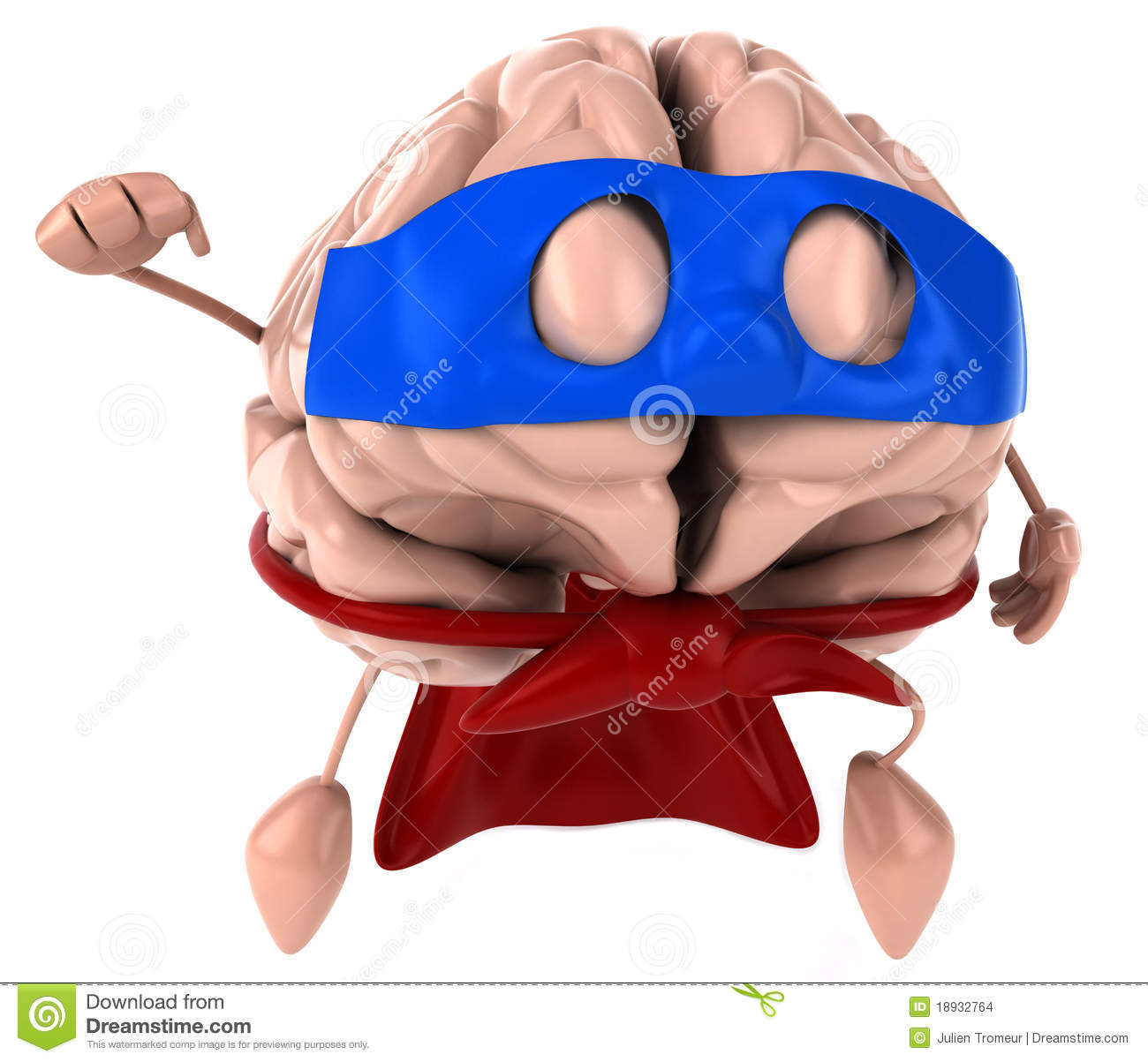 Super Brain Stock Images.