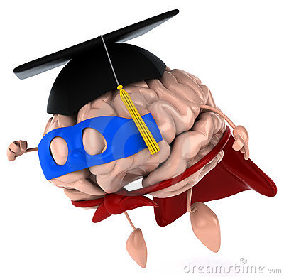Super Brain Royalty Free Stock Photography.
