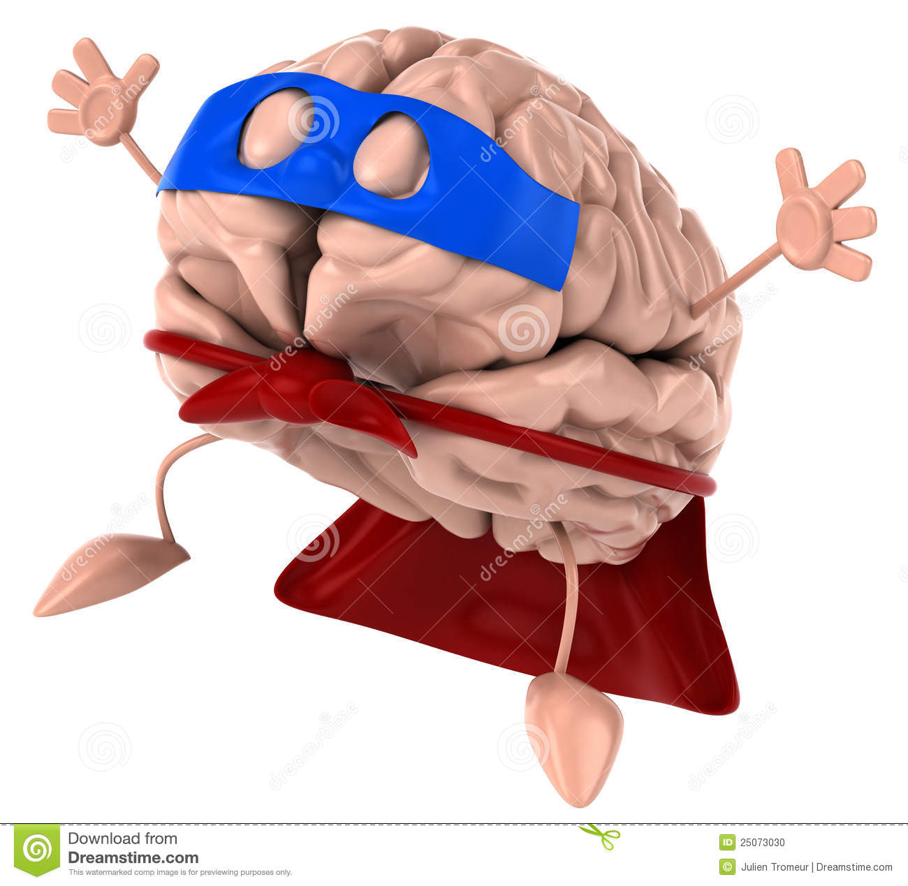 Super Brain Stock Photo.