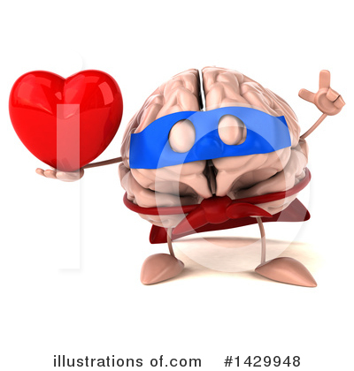 Super Brain Clipart #1429948.