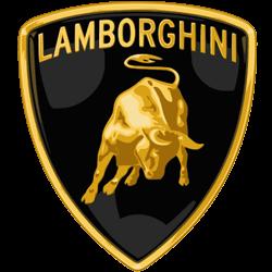 Lamborghini car company logo.