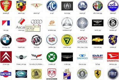 Cars Logos 01.