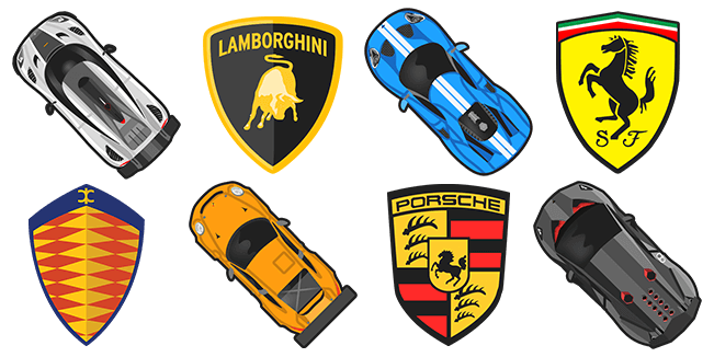 Supercars.