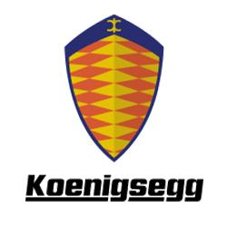 Koenigsegg car company logo.