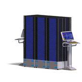 Supercomputer Stock Illustrations.
