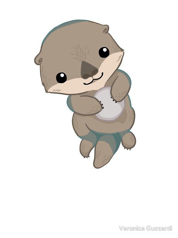 Cute Otter Pup.