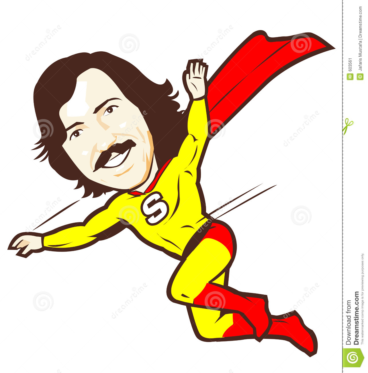 Super Dad Clipart.
