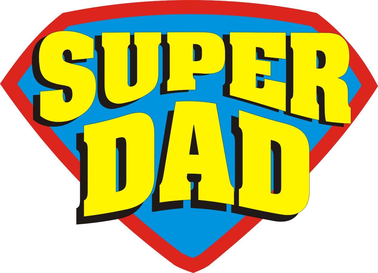 Super Dad Cliparts.