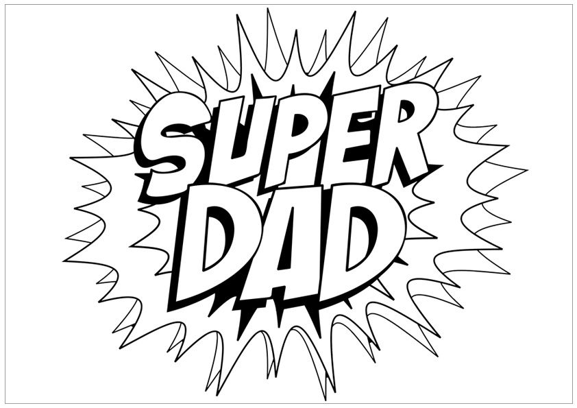 Free Unique and Printable Father\'s Day Coloring Pages for.