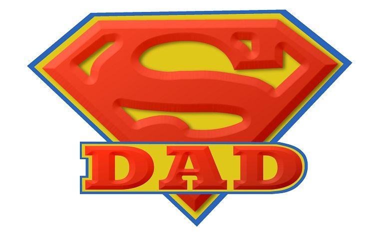 Super dad logo.
