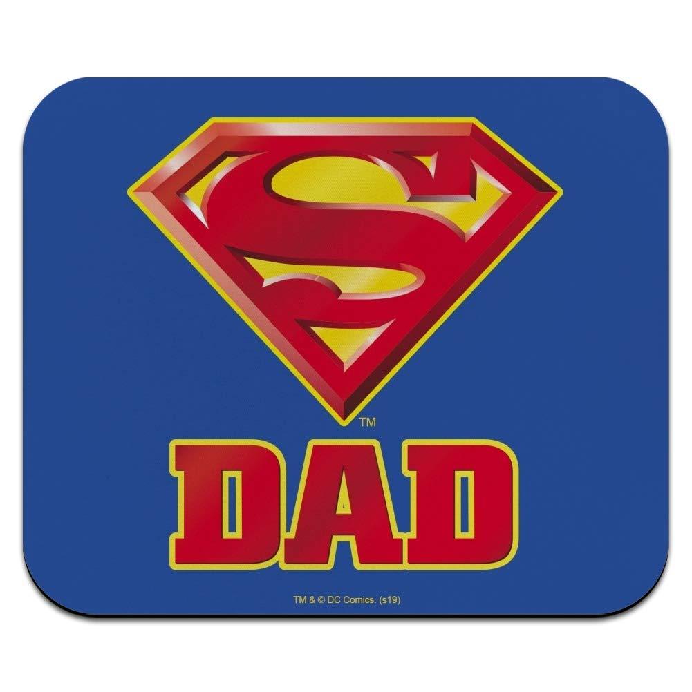 Amazon.com : Superman Super Dad Shield Logo Low Profile Thin.