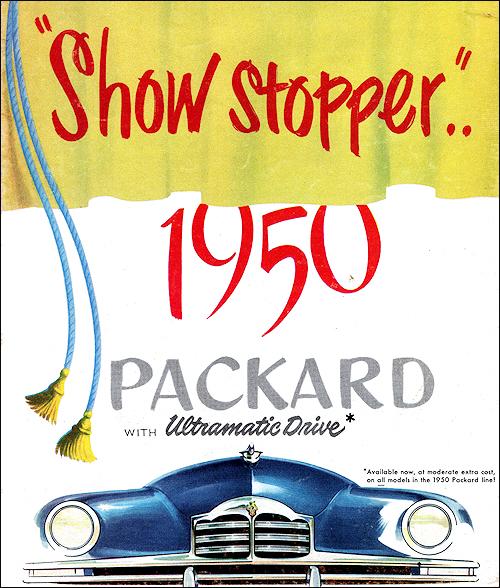 Packard 1950.