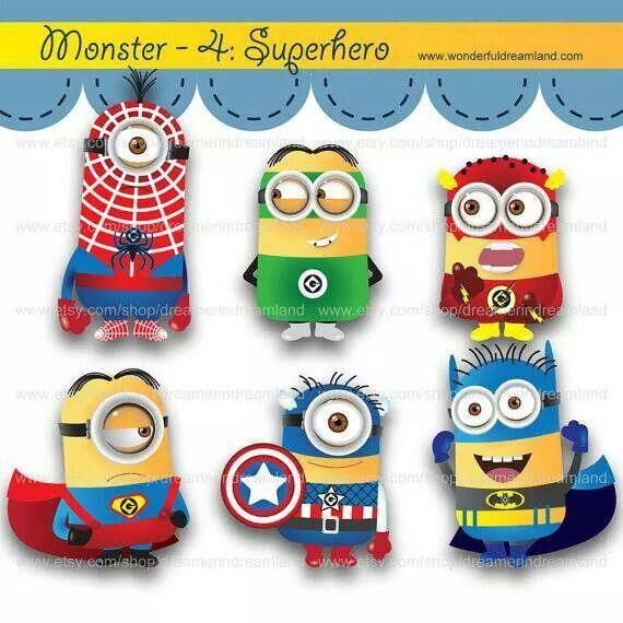 Super heroes Minion.